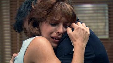 """Jaime acude a consolar a Nuria: """"Ya estoy aquí contigo"""""""