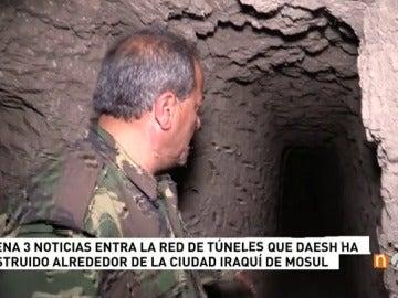 Daesh siembra de minas el perímetro de Mosul mediante una red de túneles