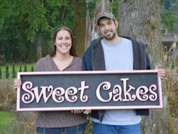 Pareja propietaria de la pastelería Sweet Cakes