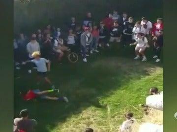 La Policía investiga en Lugo un vídeo de niños de 13 y 14 años enfrentándose a puñetazos