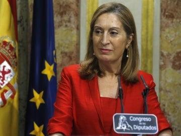 Ana Pastor anuncia que la sesión de investidura se celebrará este miércoles