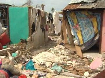 Destrucción, enfermedad y hambre en Haití tras el paso del huracán Matthew