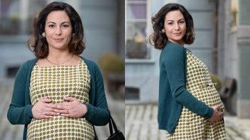 Maruxa llega embarazada a la Plaza de los Frutos