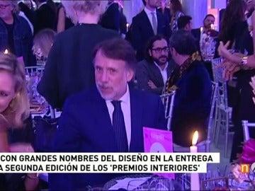 José Creuheras y Laura Falcó Lara presiden la gala de entrega de los premios internacionales de la revista 'Interiores'
