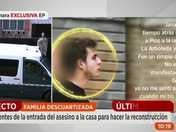 """El asesino confeso de Pioz: """"Soy alcohólico y veo sombras desde los 10 años"""""""