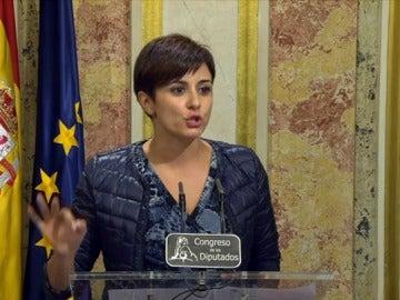 """Isabel Rodríguez: """"Votaríamos 'no' a Rajoy eternamente, pero no se trata de nosotros sino del país"""""""