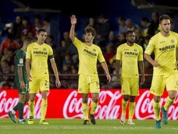 El Villarreal consigue la victoria ante el Betis