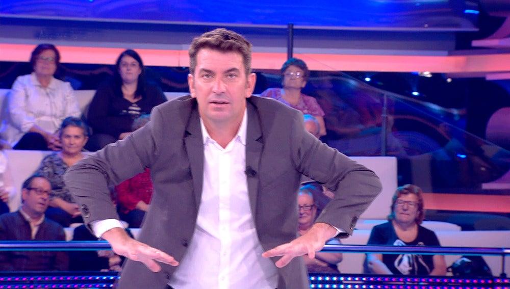 Arturo Valls se arranca con una imitación perfecta de Antonio Ferreras