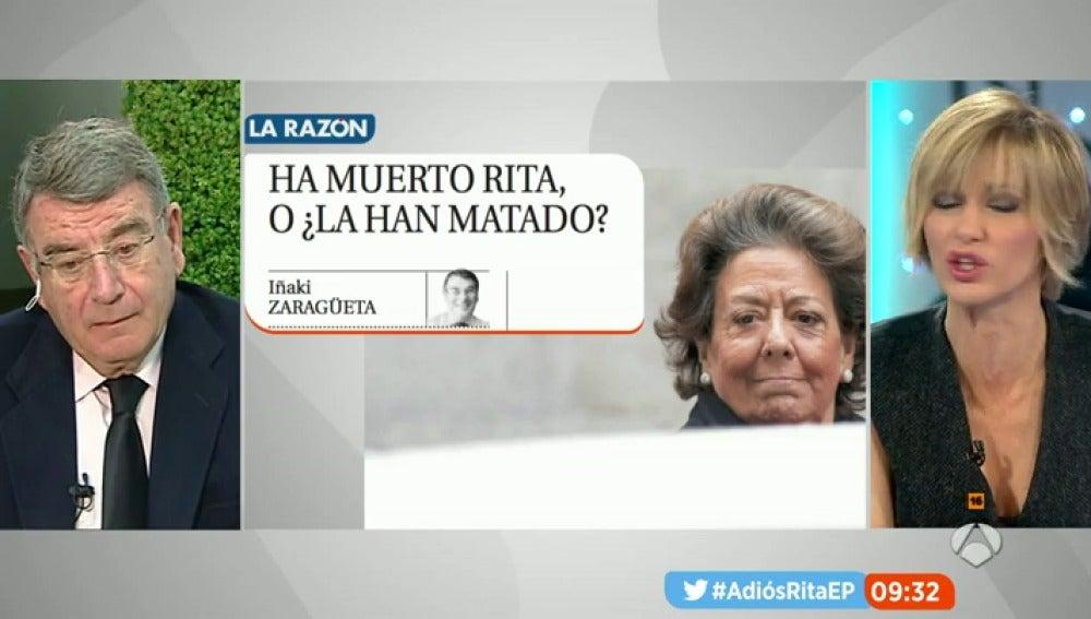 """Frame 13.882121 de: Un amigo de Rita Barberá: """"Estaba contenta porque Rajoy le había llamado hacía unas semanas"""""""