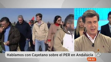 """Cayetano Martínez de Irujo sobre sus polémicas declaraciones sobre Andalucía: """"El PER ha degenerado en una confortabilidad de la gente en Andalucía"""""""