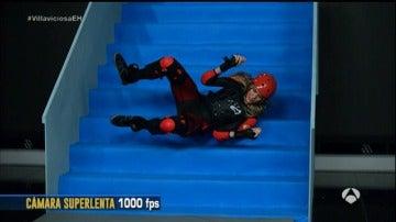 Patricia Montero se cae por las escaleras de 'El Hormiguero 3.0'