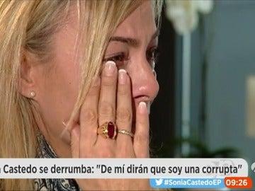 """Sonia Castedo, entre lágrimas: """"De mí dirán que soy una corrupta, pero no tiene solución"""""""