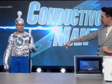 Así es 'Conductivo Man', el superhéroe de 'El Hormiguero 3.0'