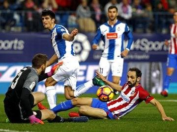 El Atlético se enfrenta al Espanyol