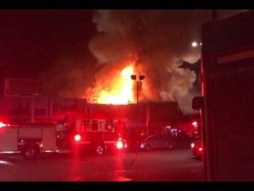 Incendio durante una fiesta en California