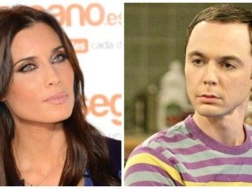 Pilar Rubio y Sheldon Cooper