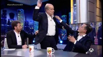 Antonio Resines se enfada con Pablo Motos y abandona su entrevista en 'El Hormiguero 3.0'