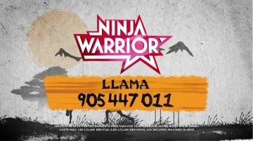 Conviértete en el primer 'Ninja Warrior' de España