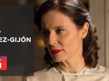Aitana Sánchez-Gijón estará en directo en Facebook Live
