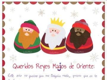 La emotiva carta de Arturo Valls a los Reyes 'majos' de Oriente