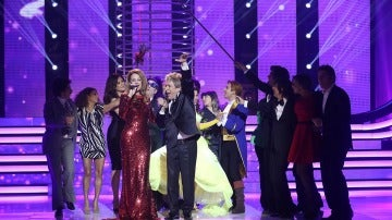 Esther Arroyo y Juan Muñoz, triunfadores del Concierto de Año Nuevo de 'Tu cara me suena'