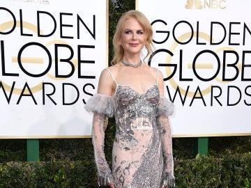 Nicole Kidman no estuvo muy acertada con este Alexander McQueen
