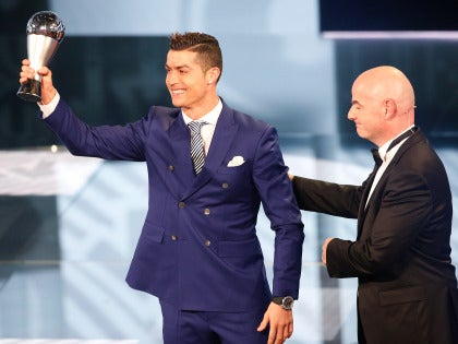 Cristiano gana el Premio 'The Best' 2016