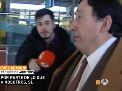 Sánchez Arminio, presidente del Comité Técnico de Árbitros