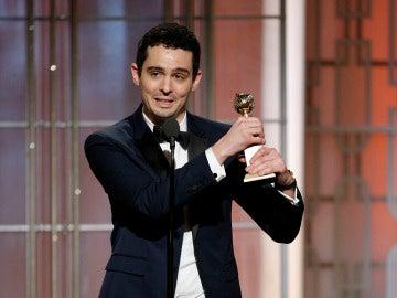 Damien Chazelle recoge el Globo de Oro a Mejor Director