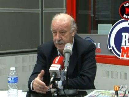 Vicente del Bosque, en Radio Marca