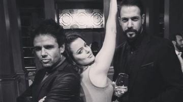Raúl Peña, Adriana Torrebejano y Chico García, unidos tras Puente Viejo