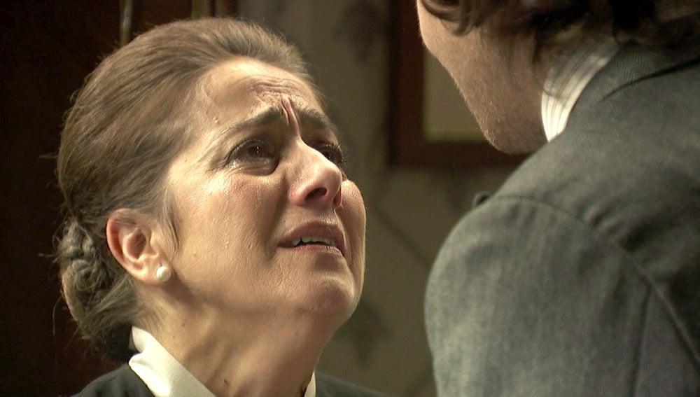 """Ismael: """"No me deja otro remedio que eliminarla Rogelia"""""""