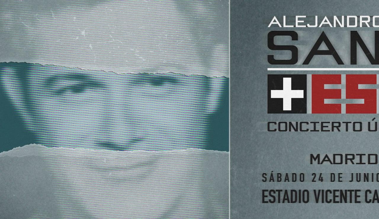 Concierto único de Alejandro Sanz