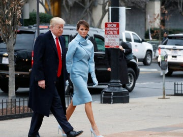 El look impecable de Melania Trump