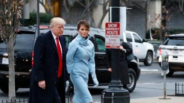 El look impecable de Melania Trump