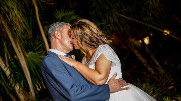 Ruth y Jaime no dudan en besarse en su primera sesión de fotos