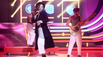 Esther Arroyo se pone en la piel de Boy George, el vocalista de Culture Club