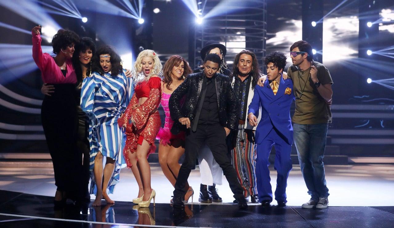 Canco Rodríguez brilla como ganador de la duodécima gala de 'Tu cara me suena' en la piel de Pharrell Williams