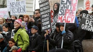 Protestas contra Trump en Portland