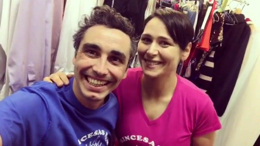Canco Rodríguez y Rosa López envían un mensaje en apoyo a la asociación 'Mi Princesa Rett'