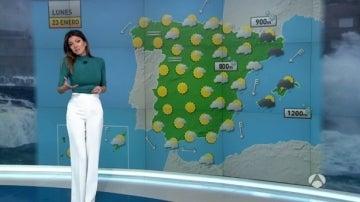 Lluvias y viento fuertes el lunes en el litoral mediterráneo y en Baleares