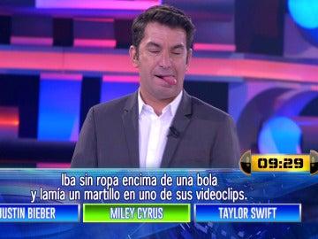 Miley Cyrus visita 'Ahora Caigo'