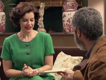 Marta recibe las pruebas de embarazo