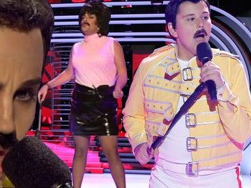 Toda la esencia de Freddie Mercury en 'Tu cara me suena'