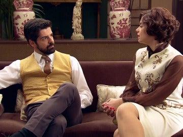 Marta y Alonso viven una turbulenta relación