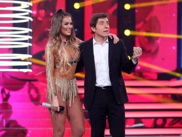 """Àngel Llàcer, a Lorena: """"A ti te va el show porque tú eres 'jamona'"""""""