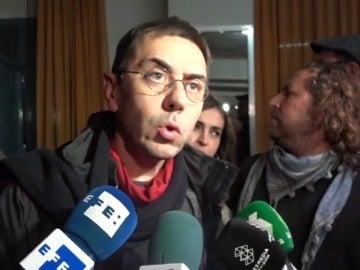 """Frame 50.800527 de: Monedero ve """"exceso de ambición"""" y confía en cerrar división tras Vistalegre"""