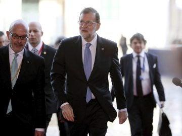 Mariano Rajoy en La Valeta