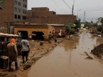 Inundaciones Perú