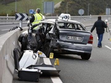 Accidente de tráfico en Guipúzcoa